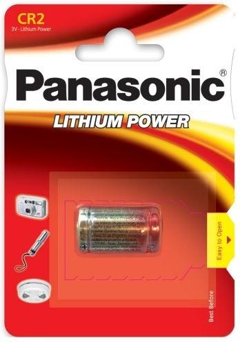 Pilha Lithium CR2 3V - PANASONIC
