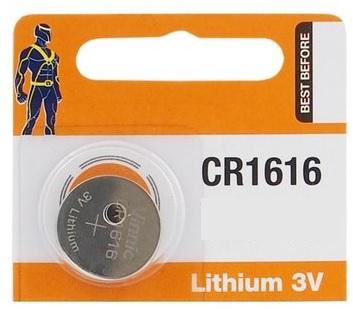 Pilha Lithium 3V CR1616 - VINNIC