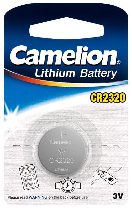 Pilha Lithium 3V CR 2320 - Camelion