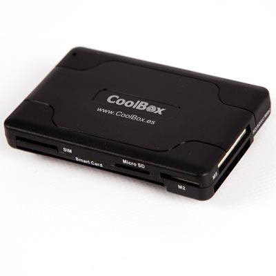 Leitor Cartões USB 3,5 + Cartão Cidadão CRE-065 - COOLBOX