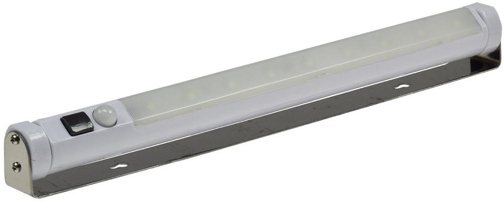 Luz 9x LEDs p/ Armários c/ Detector Movimento 80Lm (Pilhas) - ProFTC
