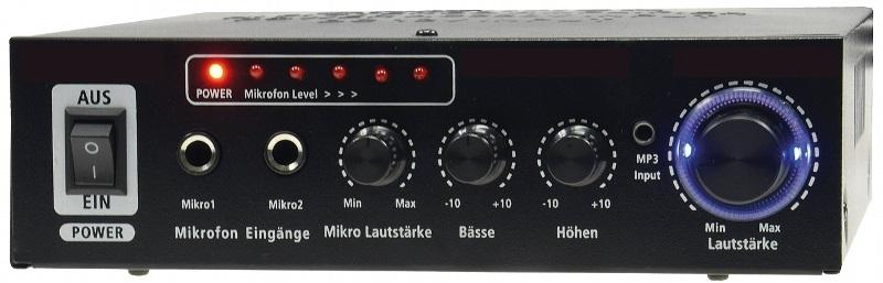 Amplificador Hi-Fi Bluetooth 100W (CTA-100BT) 12/220V - ProFTC