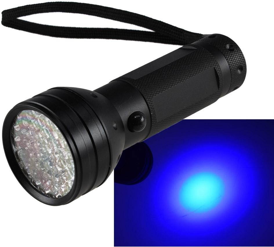 Lanterna 51x LEDs c/ Luz Negra UV - ProFTC