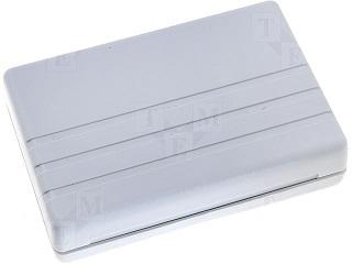Caixa de Montagem Cinza em ABS - 124 x 84 x 30mm