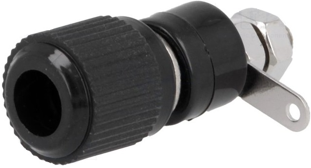 Alvéolo 60V (4mm) - Preto