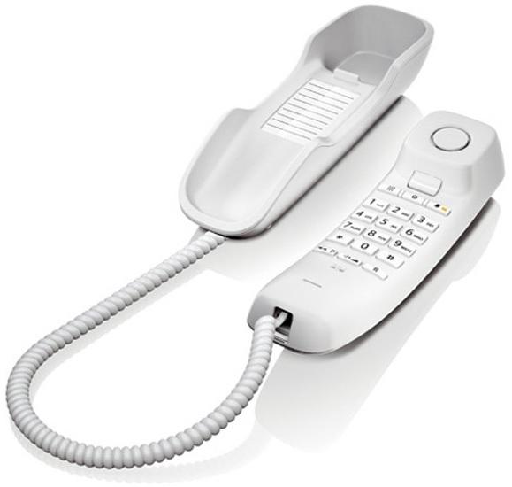 Telefone (Rede Fixa) Gigaset DA210 Branco - SIEMENS