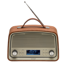 Rádio Retro FM/AUX/MP3 DAB+ 2x 4W - DENVER