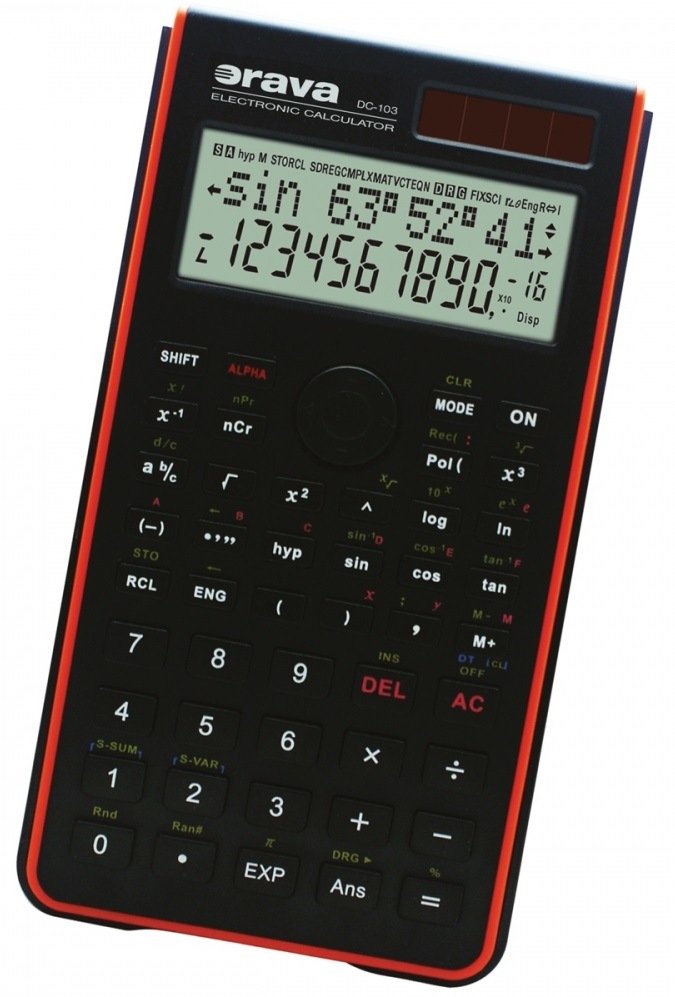 Calculadora Científica - ORAVA