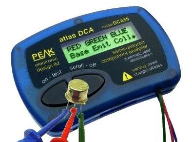 Analisador de Componentes Electrónicos DCA55