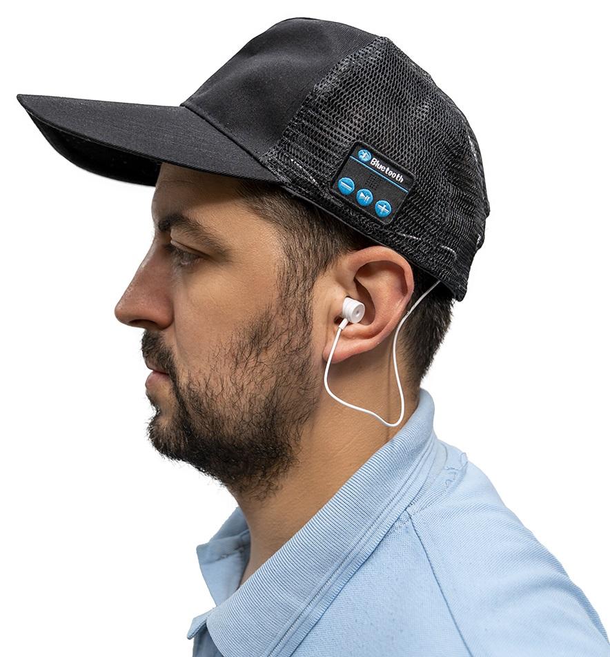 Boné Bluetooth (Preto) - ProFTC