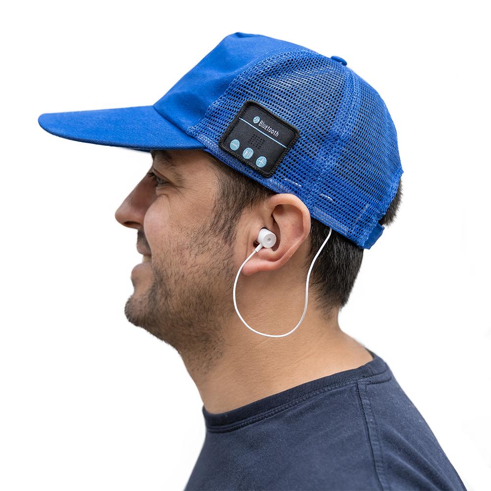 Boné Bluetooth (Azul) - ProFTC