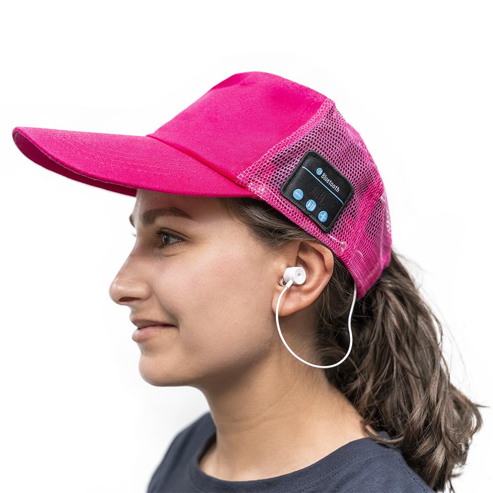 Boné Bluetooth (Rosa) - ProFTC