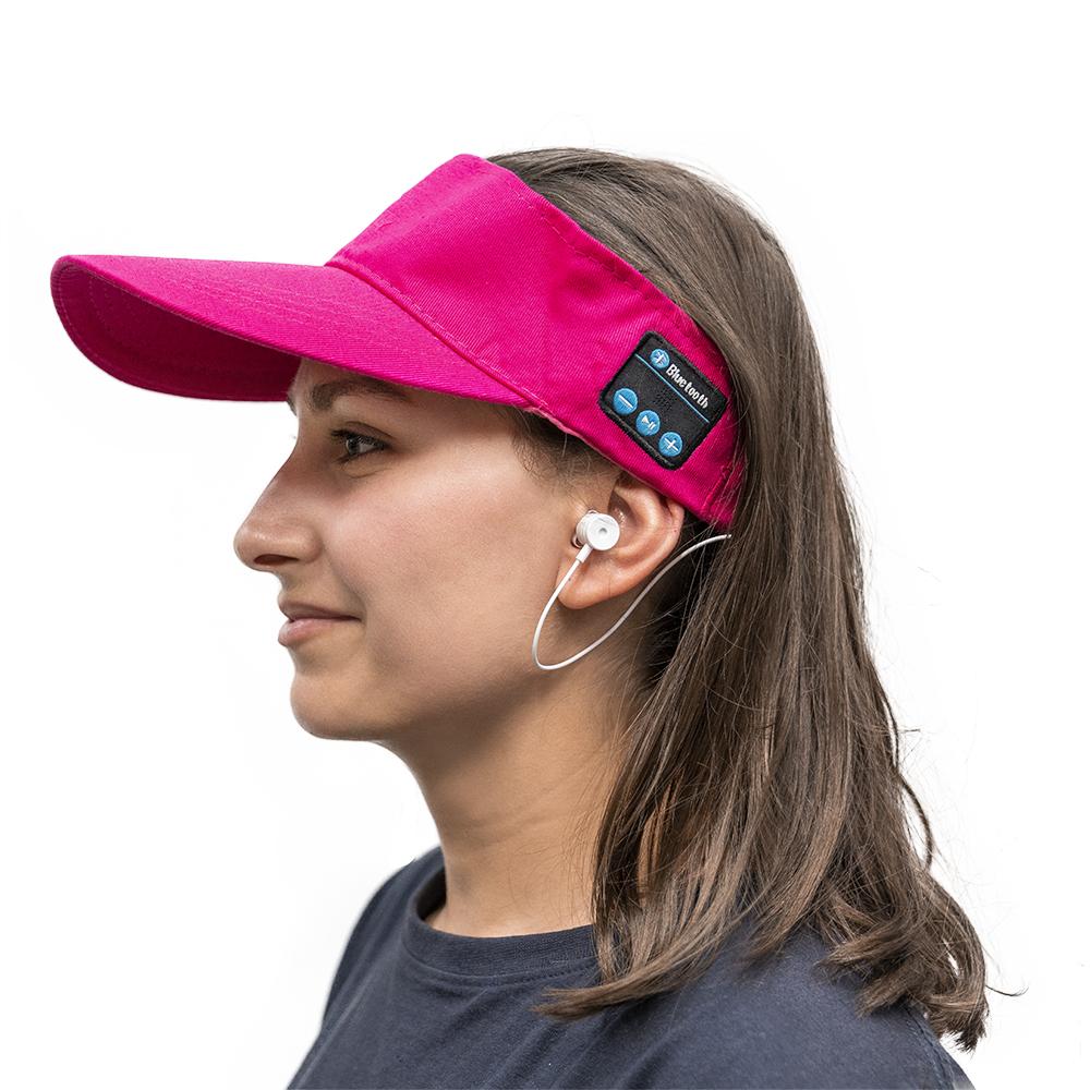 Chapéu de Pala Bluetooth (Rosa) - ProFTC