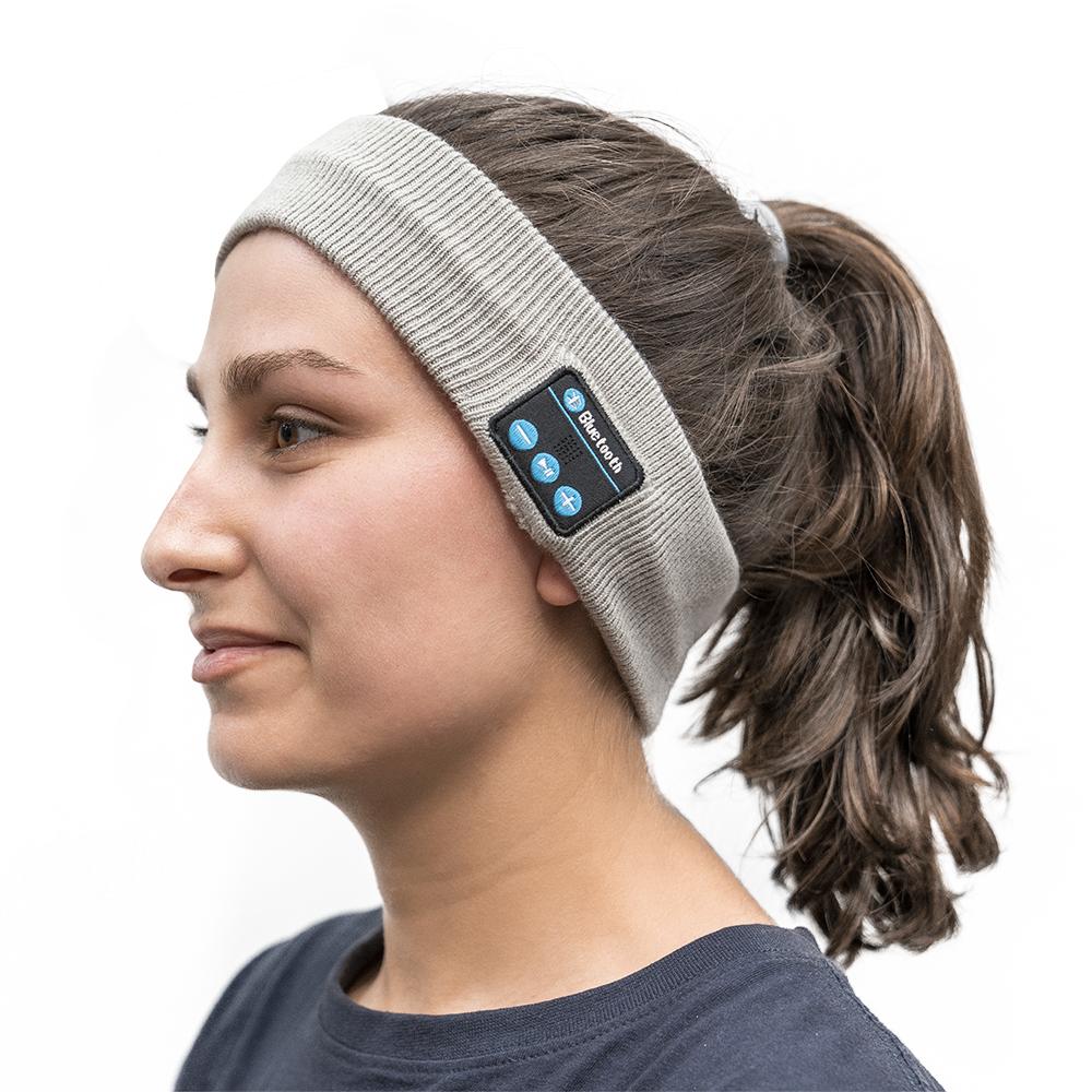 Faixa de Cabeça Bluetooth (Cinzento) - ProFTC