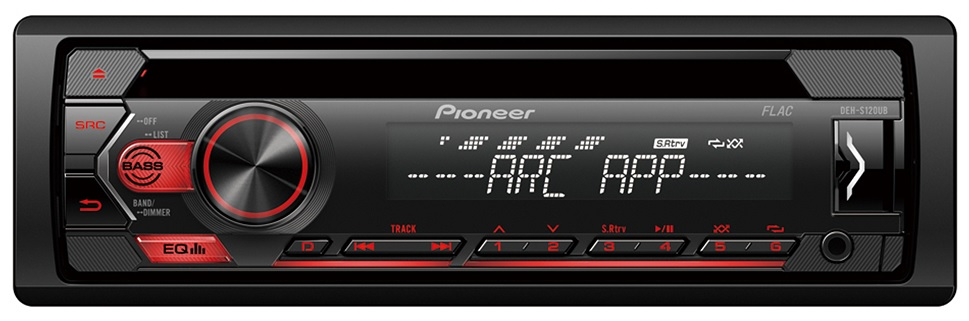 Auto Rádio RDS AM/FM 4x 50W MOSFET CD/USB/AUX Android - Pioneer