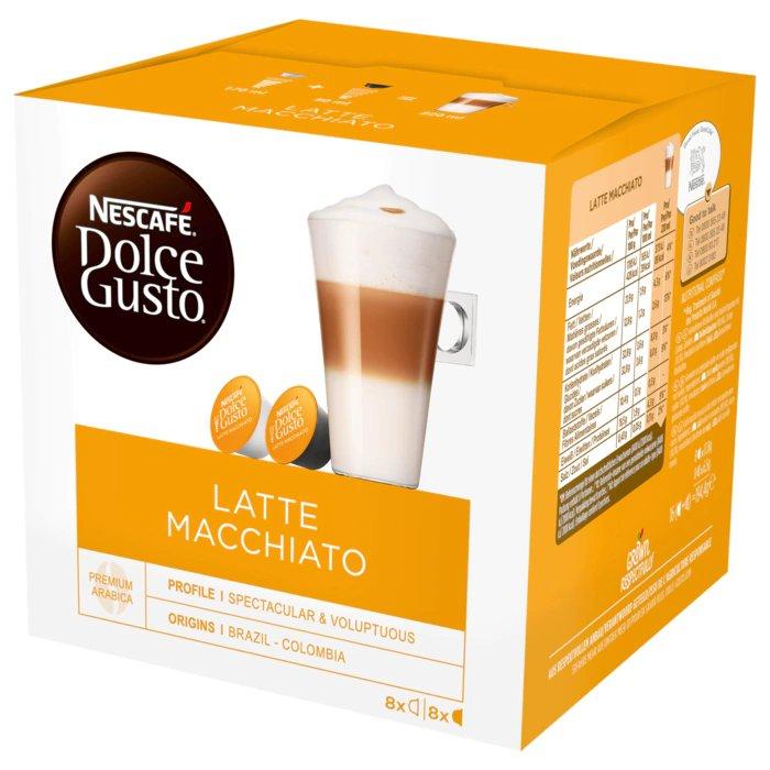 Caixa de 16 Cápsulas de Café Latte Macchiato - DOLCE GUSTO