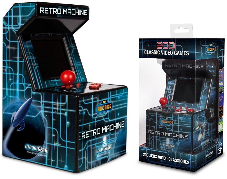 Máquina de Jogos Compacta c/ Ecrã 2,5 (200 Jogos Arcade) - ProFTC