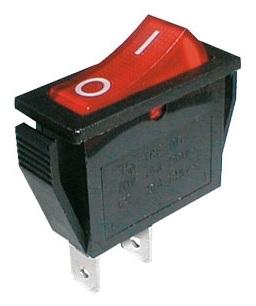 Interruptor ON/OFF 15A 250V - Vermelho