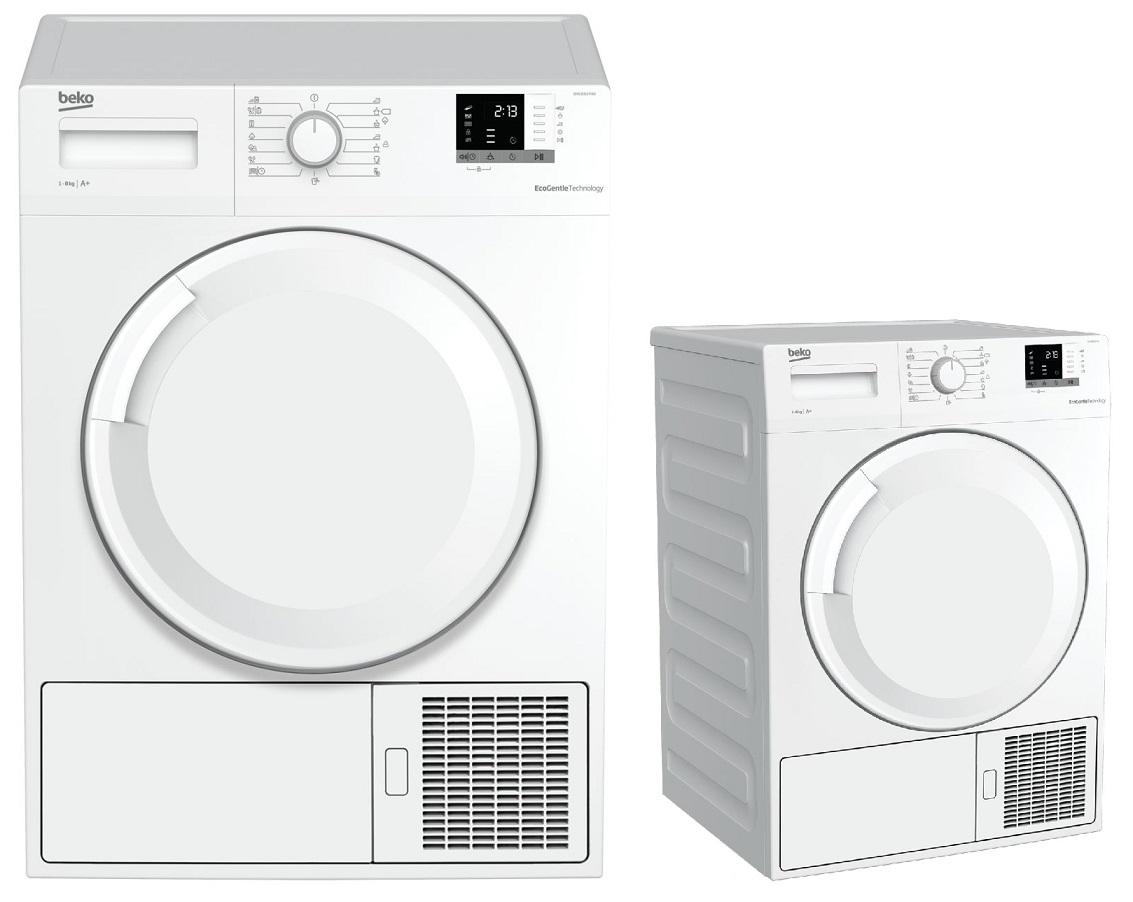 Máquina de Secar Roupa Condensação 8Kg A+ (Branco) - BEKO