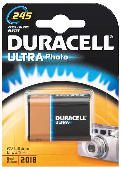 Pilha Lithium 2CR5M 6V - Duracell