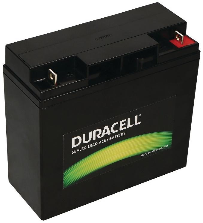 Bateria Chumbo 12V 18Ah (181 x 77 x 167 mm) - DURACELL