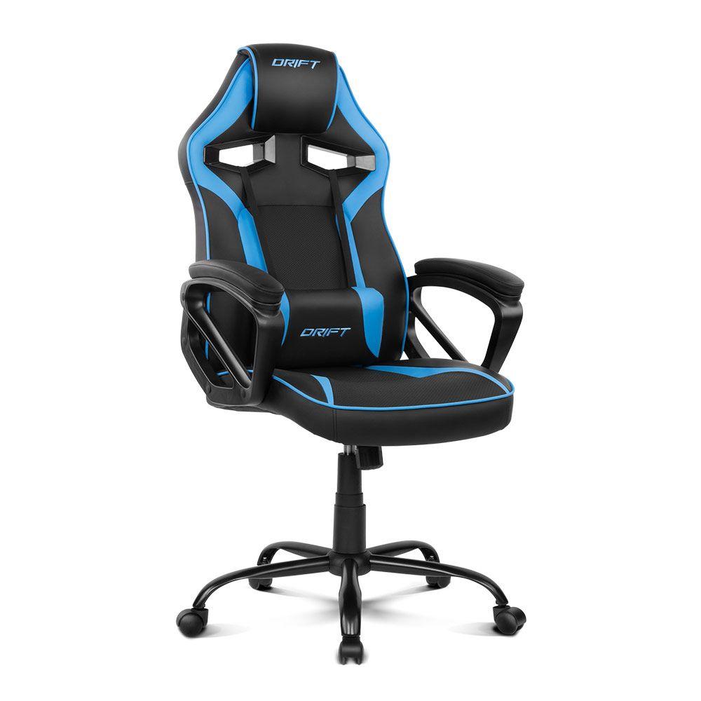 Cadeira Gaming DR50 (Preta/Azul) - DRIFT