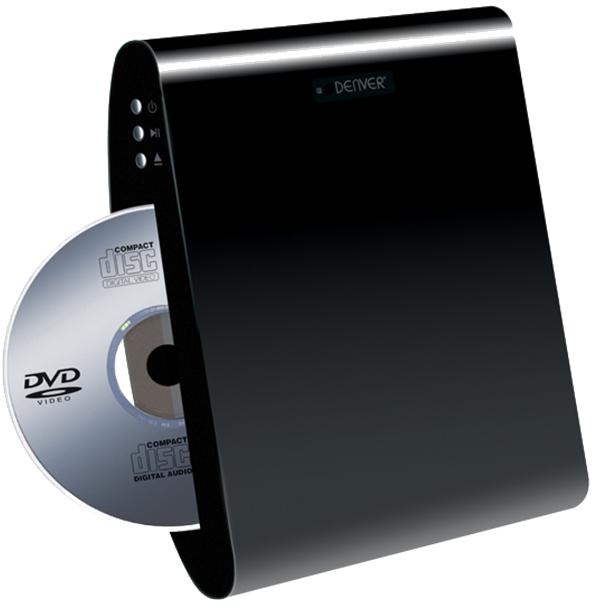 Leitor de DVD de Parede HDMI/USB (Preto) - DENVER