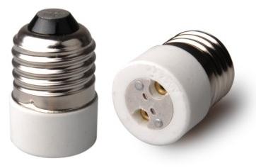 Suporte Adaptador Lampada E27 -> MR16
