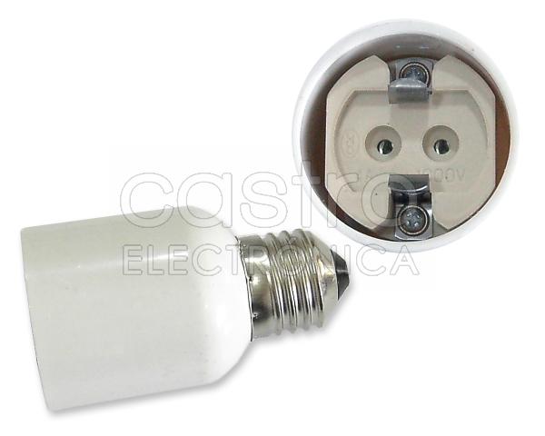 Suporte Adaptador Lampada E27 -> G12
