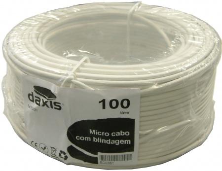 Bobine Cabo Micro Coaxial 0,50 mm (100 mts) - DAXIS
