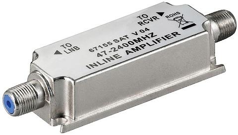 Amplificador de Linha (Satélite) 47~2450Mhz 20dB