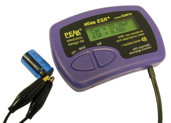 Analisador de Condensadores ESR70