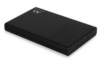 Caixa Externa p/ Disco Rigido 2,5 HDD/SSD (Preto) - EWENT
