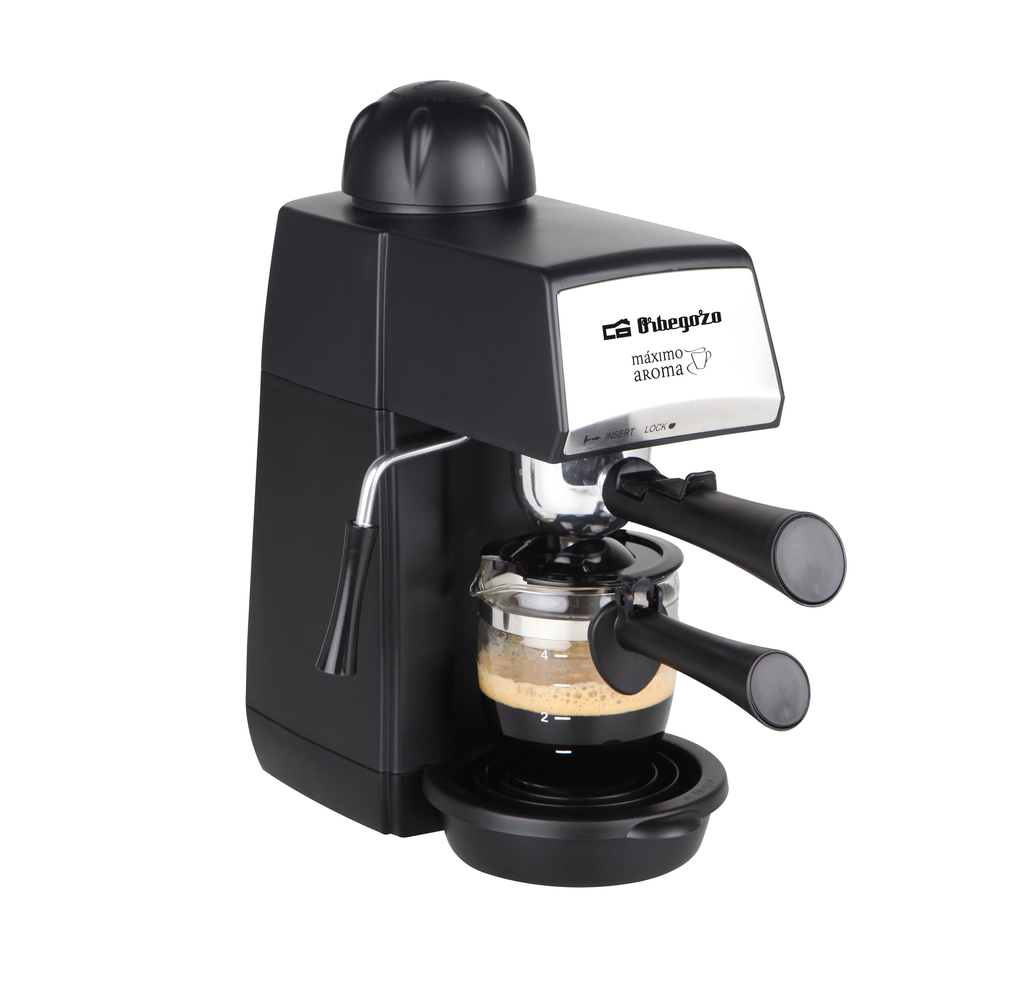 Máquina Café a Pressão 870W - ORBEGOZO