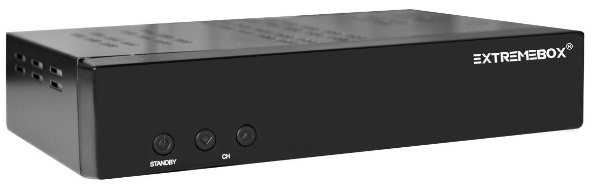 Receptor Full HD (Satélite + IPTV) Ethernet - EXTREMEBOX