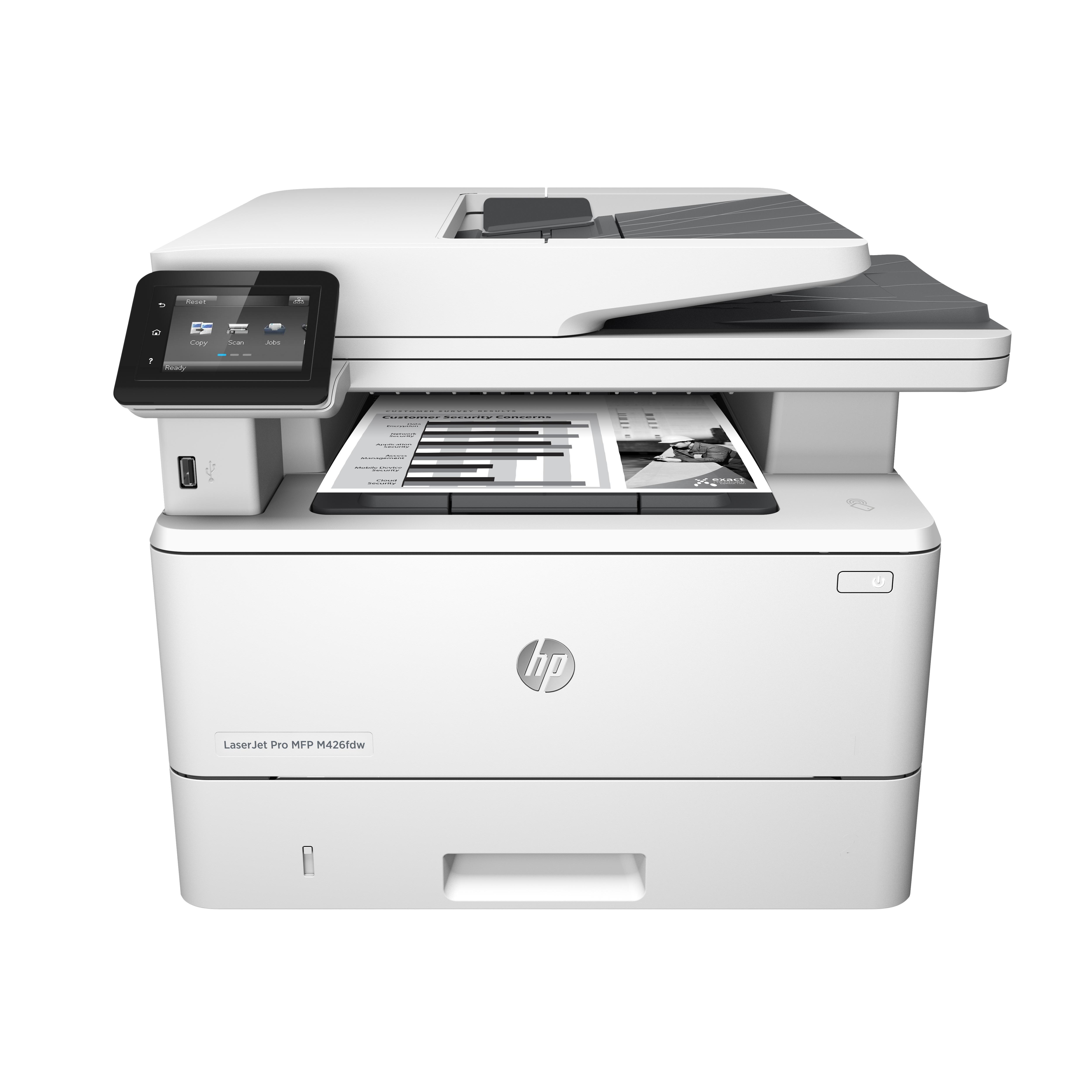 Impressora Multifunções Wi-Fi Laser A4 38ppm LaserJet Pro MFP M426fdw - HP