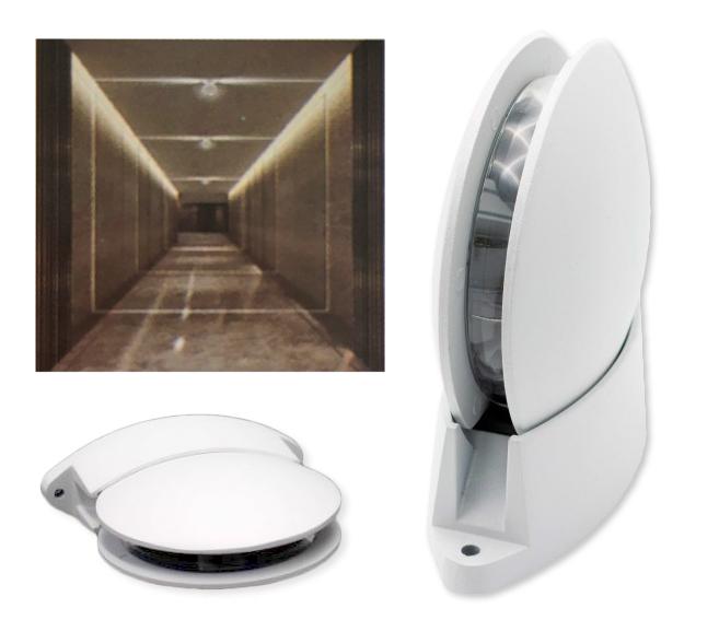 Aplique LED Linha de Luz 220V 7W Branco Q. 3000K IP54 700Lm - ProFTC