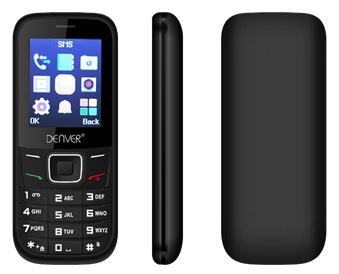 Telemóvel 1,77 Dual SIM (Preto) - DENVER