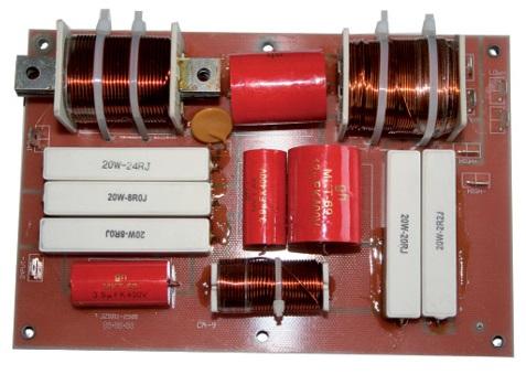 Filtro Crossover 2 Vias 800W 3500 Hz - TECHNYSOUND