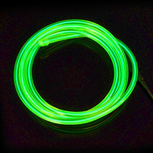 Fio Electroluminescente - Verde (metro)