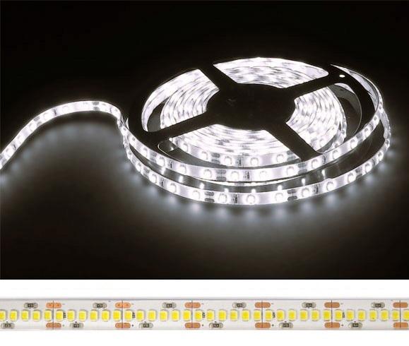 Fita 1200 LEDs SMD2835 Flexivel IP20 Branco 4000K 24V - 5 mts