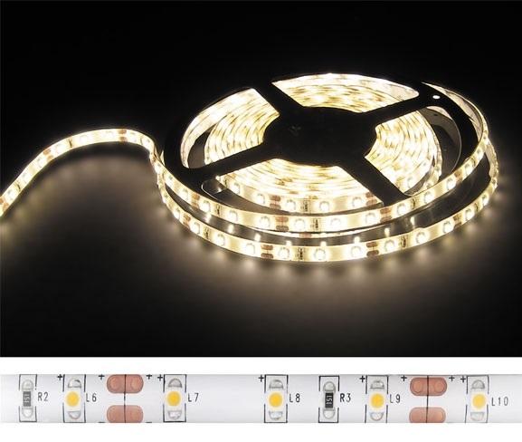 Fita 300 LEDs SMD5050 IP65 Branco Q. 3000K 24V 1250Lm - 5 mts