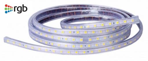 Fita LED SMD5050 Flexivel IP65 RGB 220V 900Lm (metro)