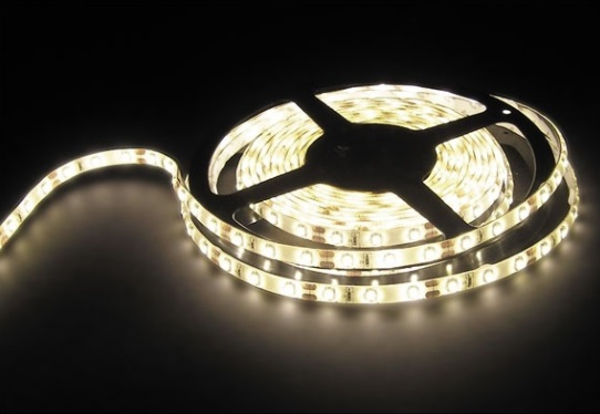 Fita 1200 LEDs SMD2835 Flexivel IP20 Branco Q. 3000K 24V (5 mts) - ProFTC