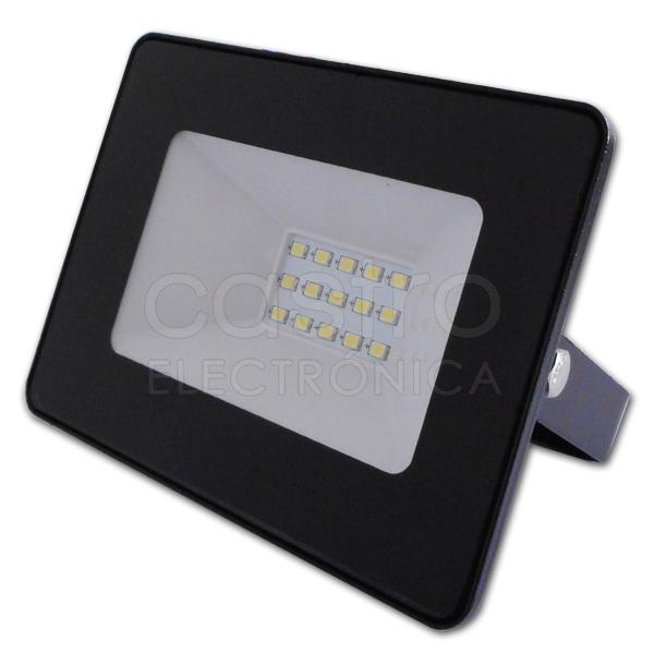 Projector LED IP65 220VAC Branco 4000K 10W 900Lm - ProFTC