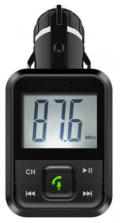Transmissor Auto LCD FM c/ MP3 USB/microSD/AUX/BLUETOOTH - WELL