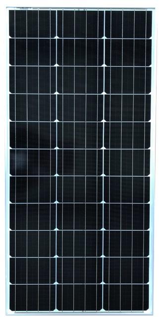 Painel Fotovoltaico Silicio Monocristalino 100W / 12V - ProFTC