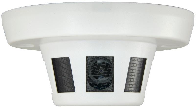 Detector Fumo Falso c/ Camara Oculta 4-EM-1 (HDTVI/HDCVI/AHD/Analógico) 1000L Sony