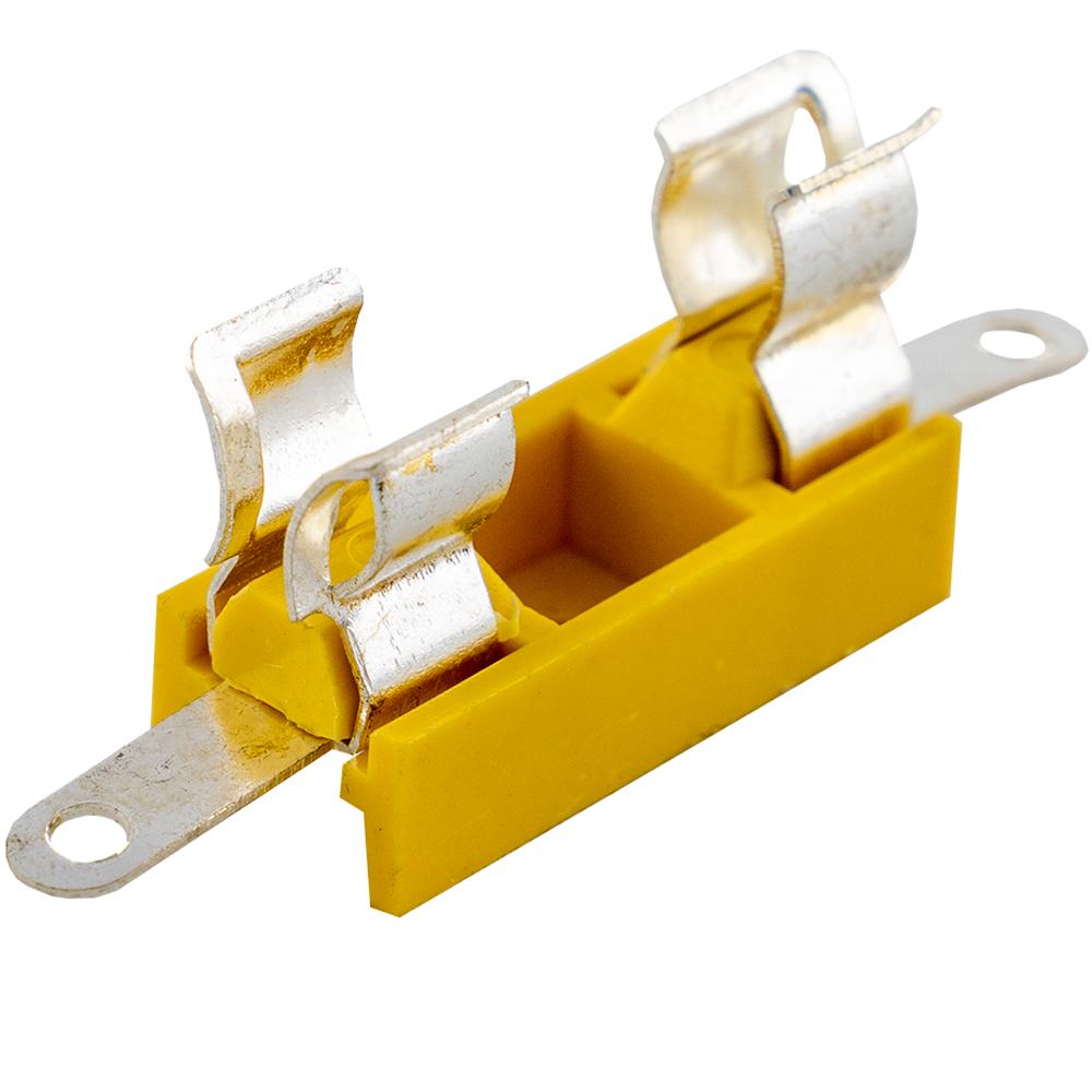 Porta Fusivel 5x20 c/ Patilhas para Soldar