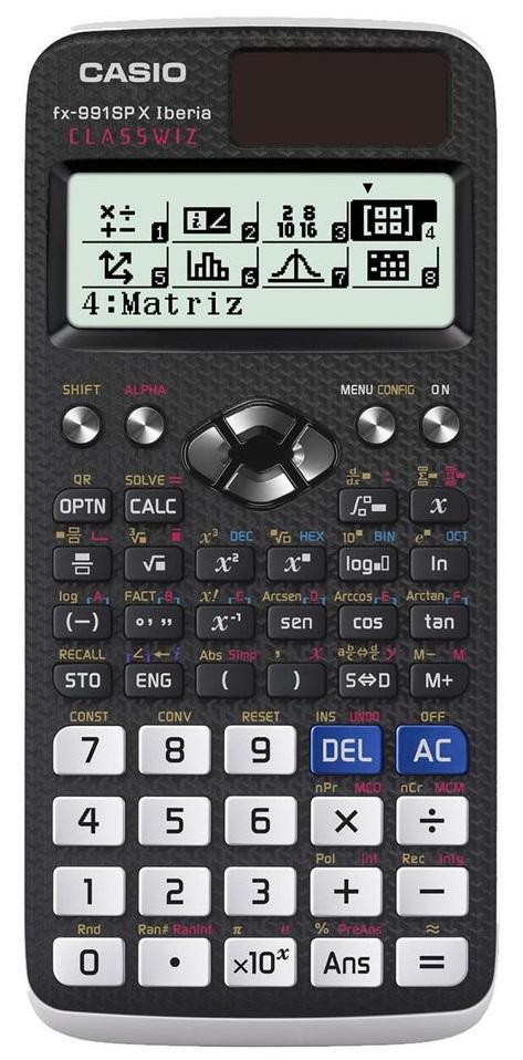 Calculadora Científica FX-991SP XII Iberia - CASIO